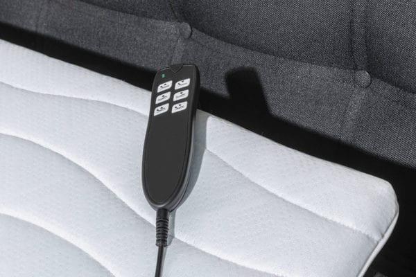 Elektrische afstandsbediening om boxspring te verstellen