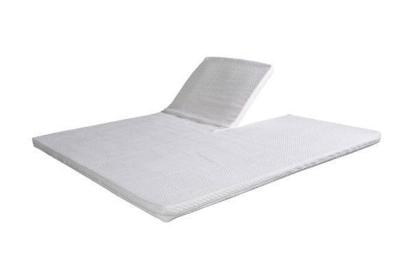 Beddenkoopjes - Green-line foam topper SPLIT