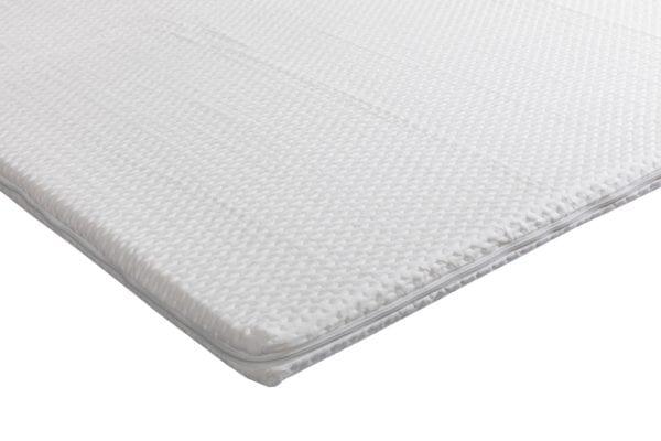 Beddenkoopjes - Green-line foam topper - detail