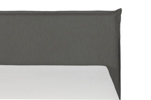 Boxspring Capri Antracite topper detail